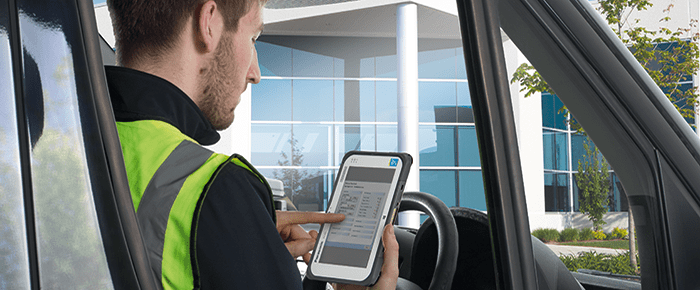 Transport & Logistik MDM Mobile Device Management Keep your Drivers safety