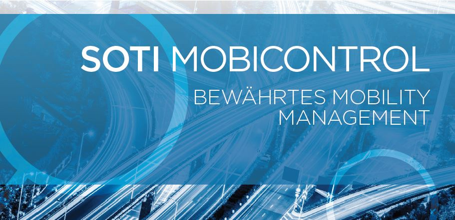 SOTI MobiControl Mobile Device Management (MDM)